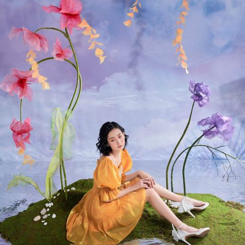 Nét hoa tinh tế trong Bộ sưu tập mới nhất của Lam Khue Design