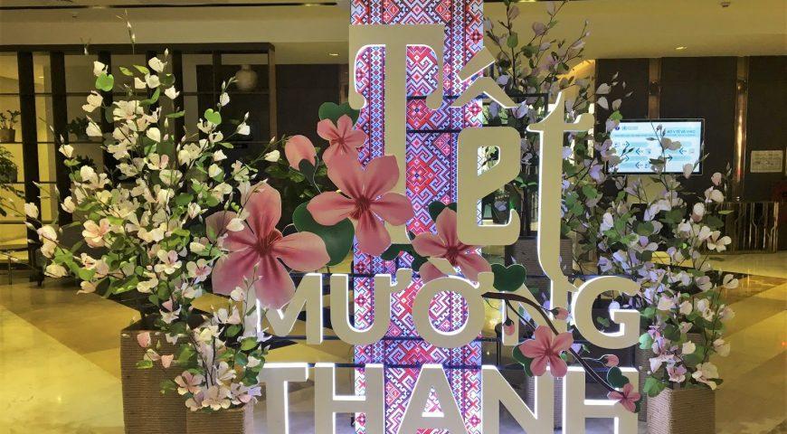 Sắc ban Ogus tô điểm cho sảnh Tập đoàn khách sạn Mường Thanh