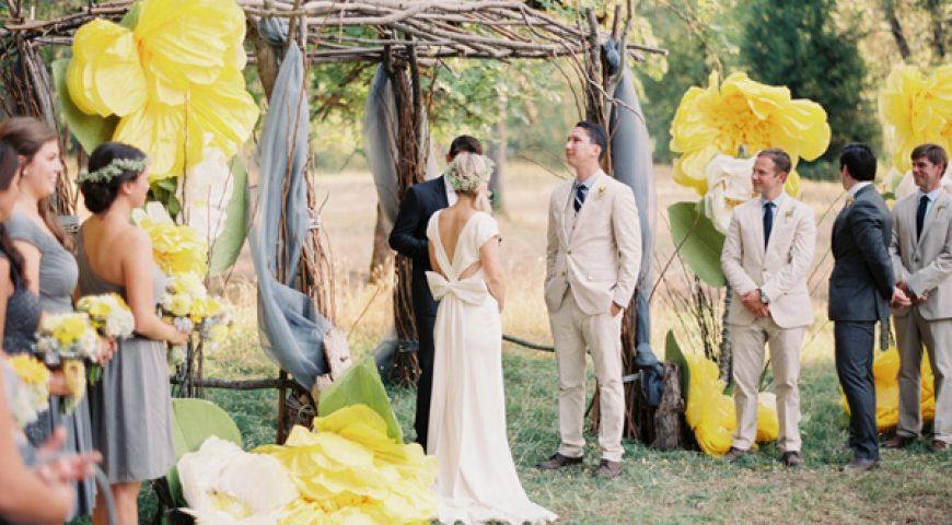 Xu hướng trang trí đám cưới – rực rỡ sắc hoa ngày chung đôi