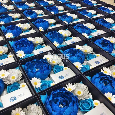 Set mẫu đơn xanh Ogus sang trọng và tinh tế của Bloom Spa nhân dịp 20/10