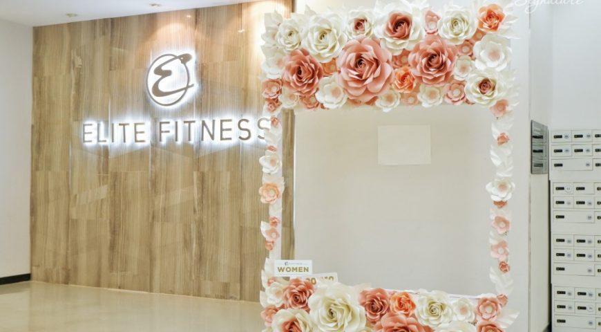 Backdrop hoa hồng khổng lồ Ogus tại IPH Xuân Thủy khiến người ra vào xuýt xoa