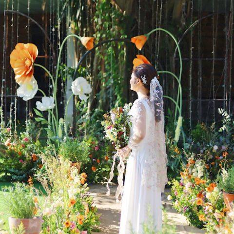 Ogus x Tháng 12 Wedding – Rực rỡ hoa anh túc khổng lồ Ogus chúc phúc cho cặp đôi tháng 10